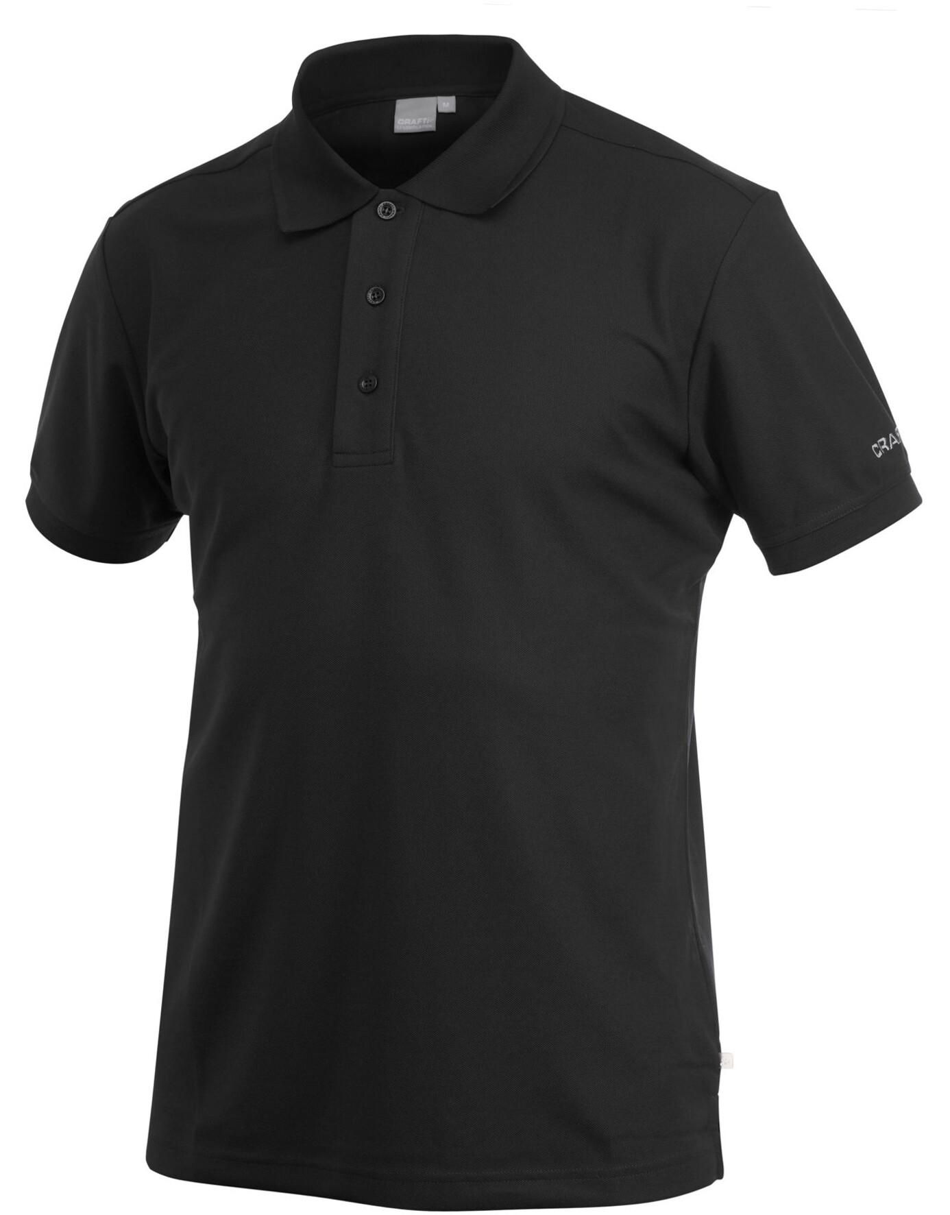 4a38d0654 Craft Classic Polo Pique T-skjorte Svart